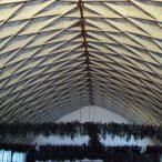 Unikátní strop společenského sálu
